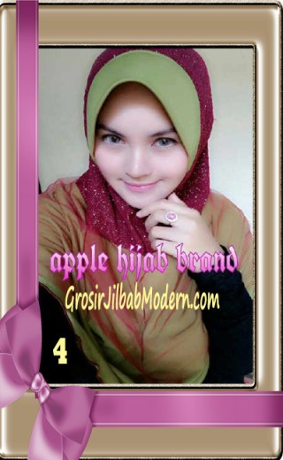 Jilbab Tutu Goldee Modis by Apple Hijab Brand No 4