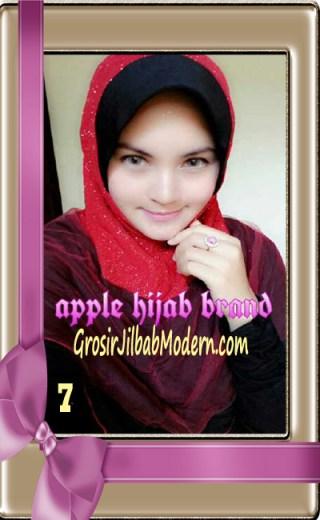 Jilbab Tutu Goldee Modis by Apple Hijab Brand No 7