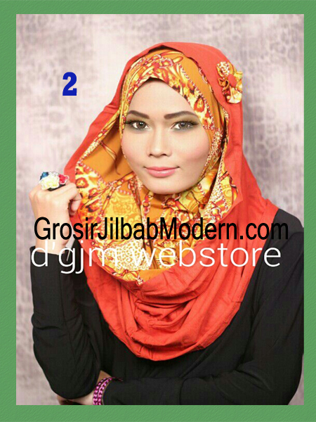 Jilbab Instant Syria Hoodie Latifa Trendy No 2
