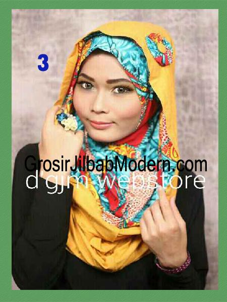 Jilbab Instant Syria Hoodie Latifa Trendy No 3