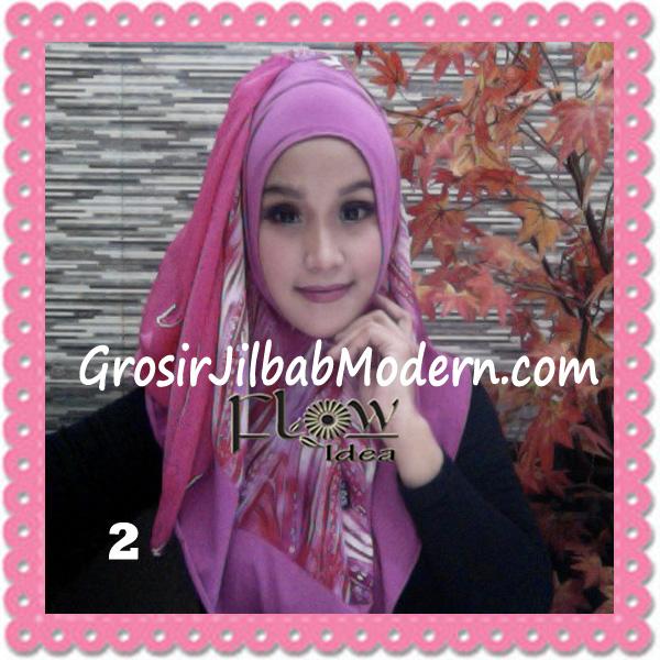 Jilbab Modern Instant Rainy Original by Flow Idea No 2 Fanta Fanta