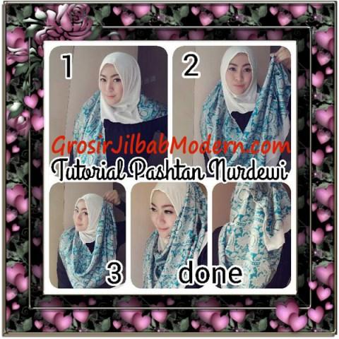Jilbab Pashmina Instant Nurdewi Original by Narinda - Cara Pakai
