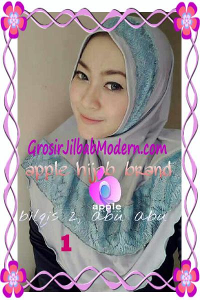 Jilbab Syria Bilqis Seri 2 Modis by Apple Hijab Brand No 1 Abu Abu