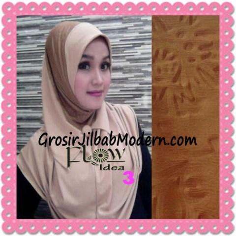 Jilbab Syria Modis Padma Original by Flow Idea No 3 Coklat
