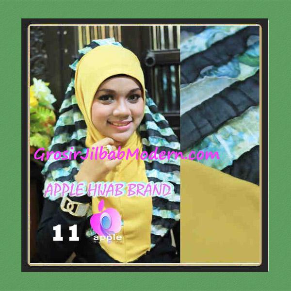 Jilbab Syria Sofia Frill Modis by Apple Hijab Brand No 11 Gold