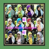Jilbab Syria Sofia Frill Modis by Apple Hijab Brand Series