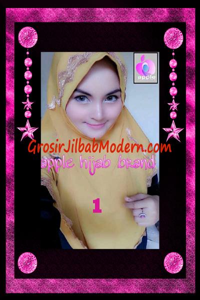 Jilbab Yafee Syar'i Modis by Apple Hijab Brand No 1 Gold