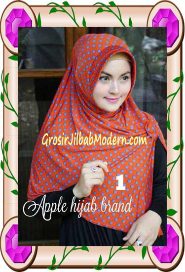 Jilbab Harian Modis Arzety Volca by Apple Hijab Brand No 1
