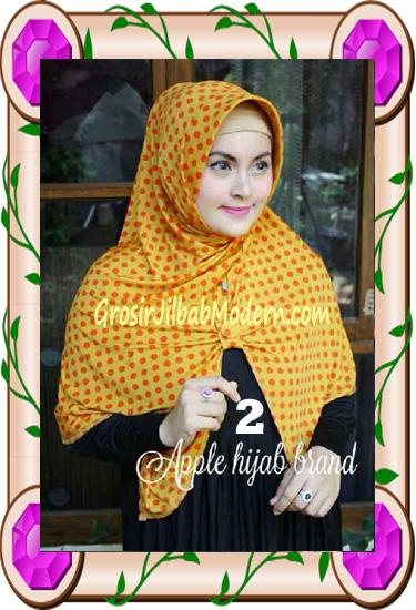 Jilbab Harian Modis Arzety Volca by Apple Hijab Brand No 2