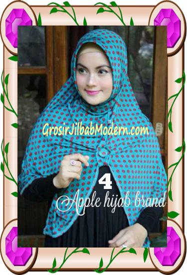 Jilbab Harian Modis Arzety Volca by Apple Hijab Brand No 4