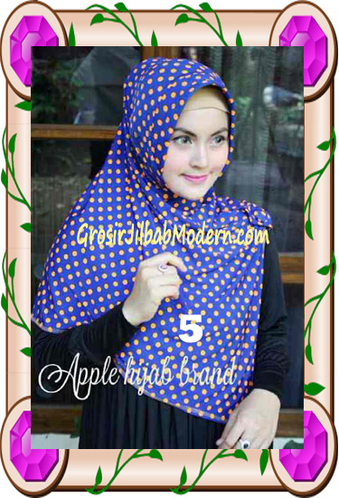 Jilbab Harian Modis Arzety Volca by Apple Hijab Brand No 5