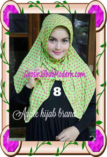 Jilbab Harian Modis Arzety Volca by Apple Hijab Brand No 8