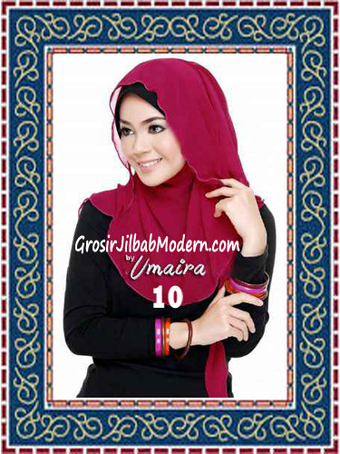 Jilbab Instant Model Baru Hazmi Trendy No 10
