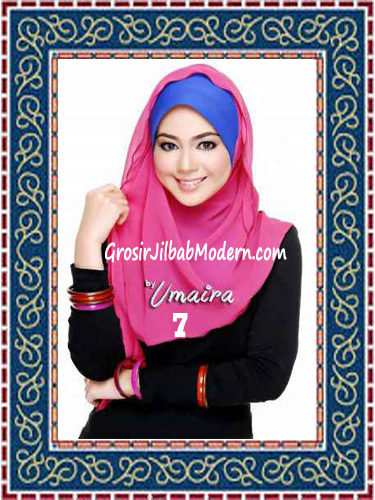 Jilbab Instant Model Baru Hazmi Trendy No 7