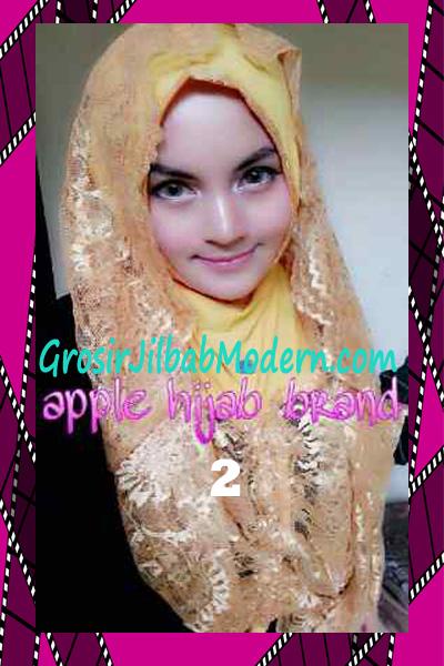Jilbab Instant Syria Hoodie Layer Maryam by Apple Hijab Brand No 2 Kuning