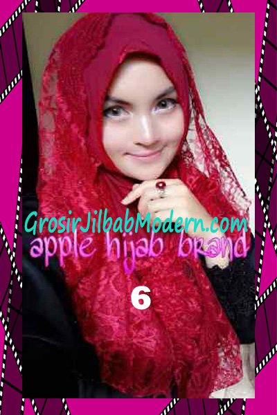 Jilbab Instant Syria Hoodie Layer Maryam by Apple Hijab Brand No 6 Marun