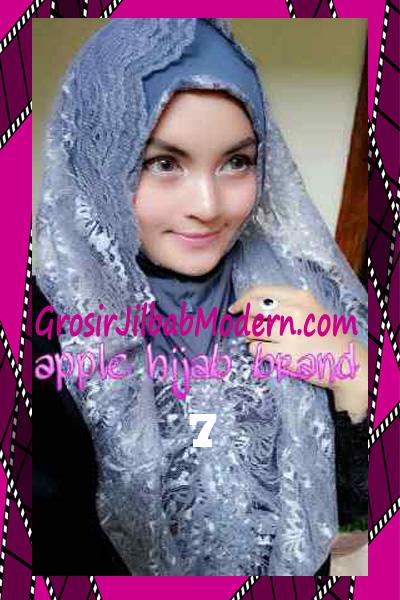 Jilbab Instant Syria Hoodie Layer Maryam by Apple Hijab Brand No 7 Abu