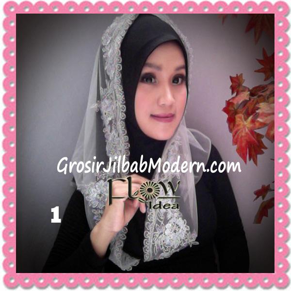 Jilbab Modern Syria Hoodie Tutu Ladiva Original By Flow Idea No 1 Hitam Abu