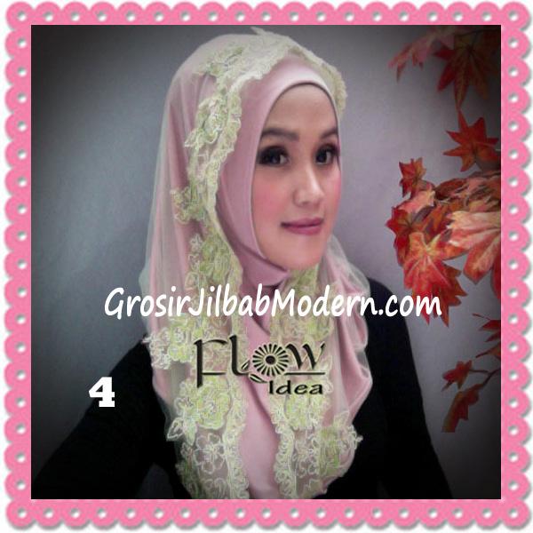 Jilbab Modern Syria Hoodie Tutu Ladiva Original By Flow Idea No 4 Pink Hijau