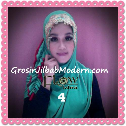 Jilbab Syria Ratu Trendy dan Chic Original by Flow Idea No 4 Hijau