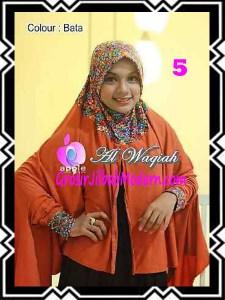 Jilbab Tangan Syar'i Modern Al Waqiah Seri 2 by Apple Hijab Brand No 5 Bata