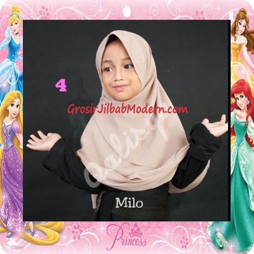 Jilbab Cerutti Cantik Mijwad For Kids Original by Qalisya No 4 Milo