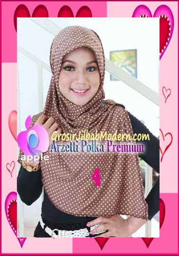 Jilbab Harian Trendy Arzety Premium by Apple Hijab Brand No 4