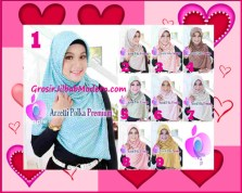 Jilbab Harian Trendy Arzety Premium by Apple Hijab Brand Series