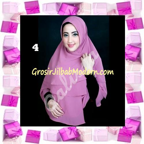 Jilbab Instant Khimar Mijwad Cerutti Original by Qalisya No 4