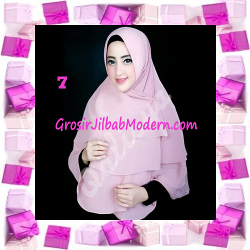 Jilbab Instant Khimar Mijwad Cerutti Original by Qalisya No 7