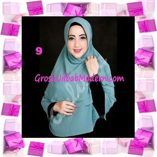 Jilbab Instant Khimar Mijwad Cerutti Original by Qalisya No 9