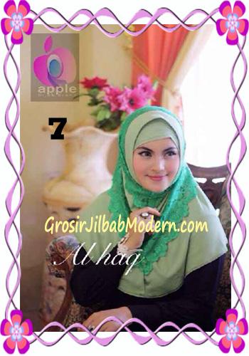 Jilbab Instant Modern Mewah Al Haq by Apple Hijab Brand No 7 Mint
