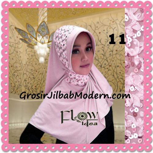 Jilbab Instant Syria Bergo Pet Modern Amira Cantik by Flow Idea No 11 Baby Pink