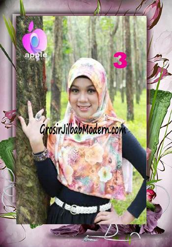 Jilbab Pet Modis Arzety Jameela Original by Apple Hijab Brand No 3