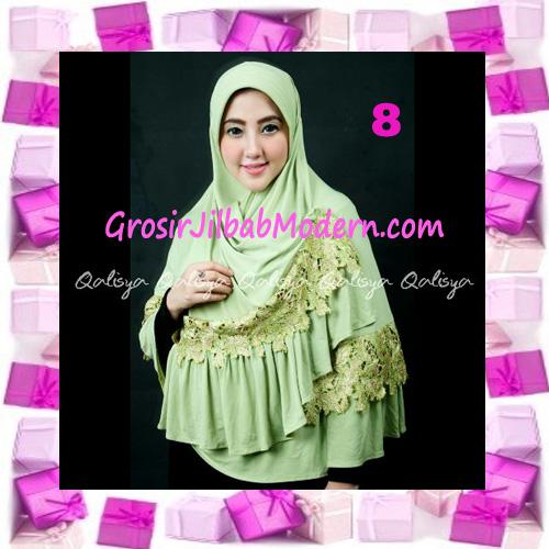 Jilbab Syar'i Qisya Renda 3 Dimensi Original by Qalisya No 8