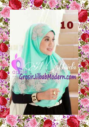Jilbab Syria Instant Almaida Prada Edisi Lebaran by Apple Hjab Brand No 10