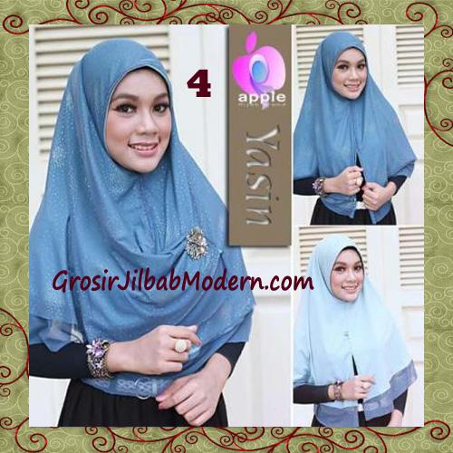 Jilbab Syria Modern Bolak Balik Yasin Mewah by Apple Hijab Brand No 4