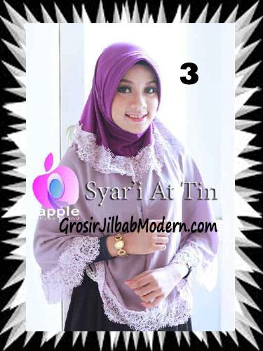 Jilbab Syria Syar'i At-Tin Exclusive by Apple Hijab Brand No 3