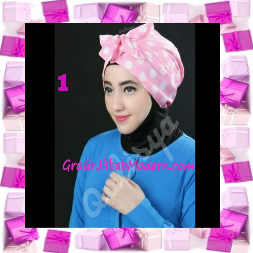 Turban Aisy Trendy & Chic Model Baru by Qalisya No 1