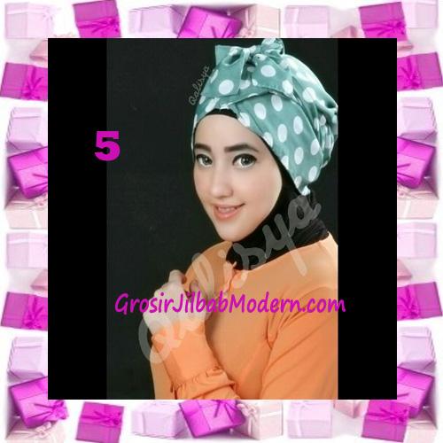 Turban Aisy Trendy & Chic Model Baru by Qalisya No 5