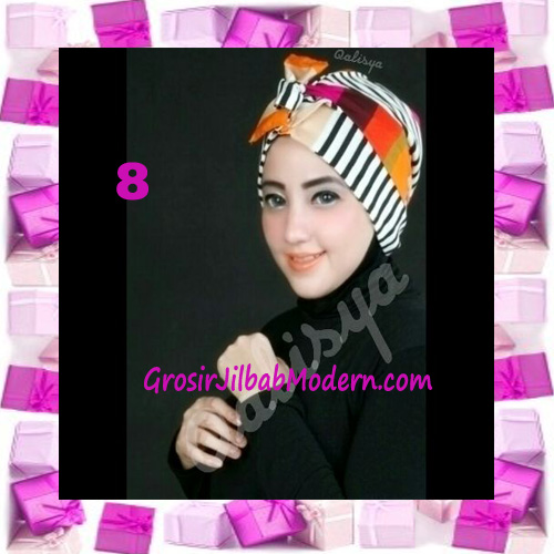 Turban Aisy Trendy & Chic Model Baru by Qalisya No 8