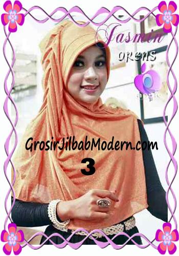 Jilbab Instant Modis Praktis Yasmin Premium by Apple Hijab Brand No 3 Orens