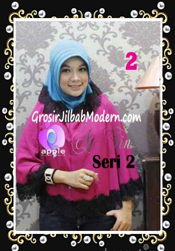 Jilbab Syar'i At Tin Exclusive Seri 2 by Apple Hijab Brand No 2