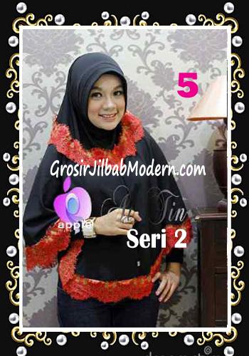 Jilbab Syar'i At Tin Exclusive Seri 2 by Apple Hijab Brand No 5