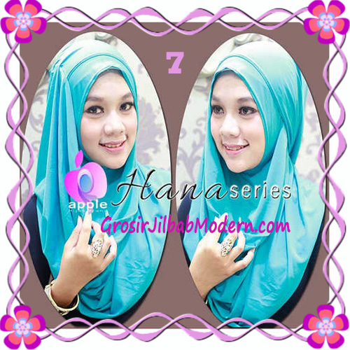 Pashmina Cantik Instant Hanna ala Dewi Sandra Sinetron CHSI Original by Apple Hijab Brand No 7 Tosca