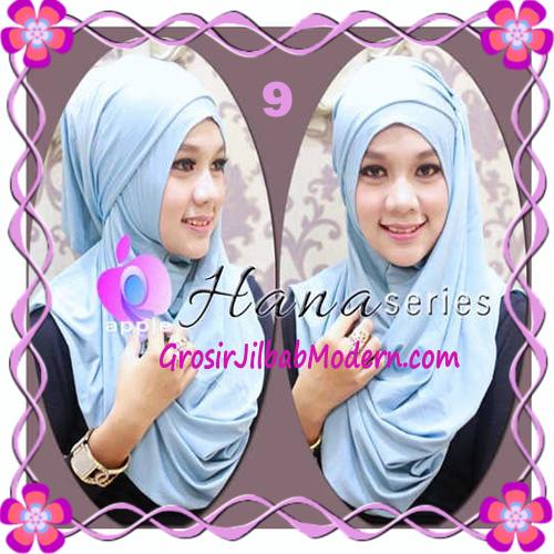 Pashmina Cantik Instant Hanna ala Dewi Sandra Sinetron CHSI Original by Apple Hijab Brand No 9 Biru Muda