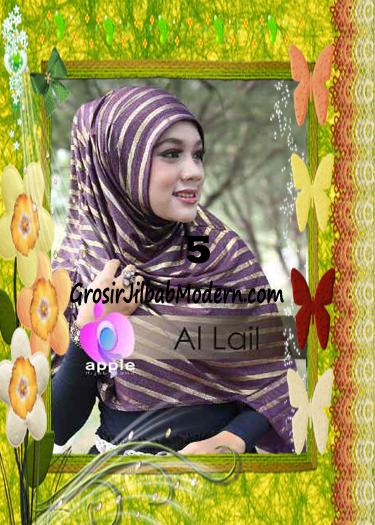 Jilbab Syria Instant Modern Al Lail Salur Original By Apple Hijab Brand No 5 Ungu