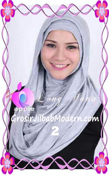 Jilbab Syria Long Hana Zaskia Original Apple Hijab Brand No 2 Abu