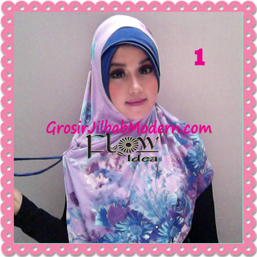 Jilbab Harian Syria Kerut Florence Cantik Original by Flow Idea No 1