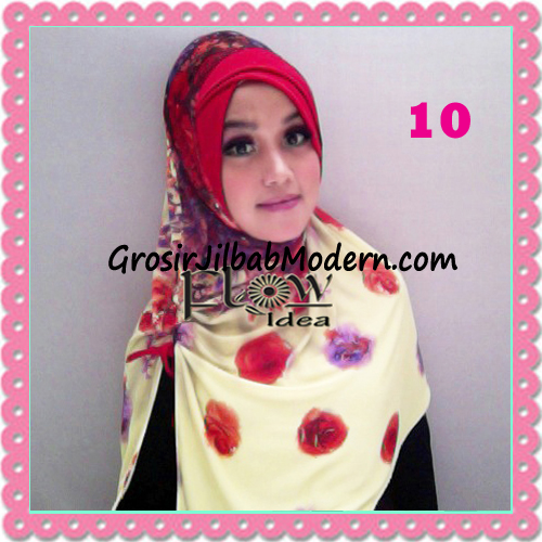 Jilbab Harian Syria Kerut Florence Cantik Original by Flow Idea No 10